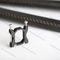 carbon fiber tube clamp for DIY mini quadcopter