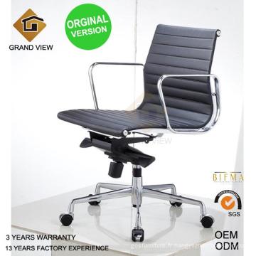 Version orginal Eames chaise de cuir (GV-EA117)