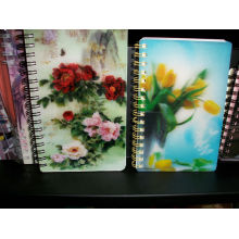 Composition Stationery Notebook with 3D Effect Lenticular Printing