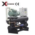 Wassergekühlte Wasserkühlmaschine anschrauben