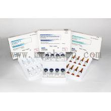 Kit de inyección de glutatión de venta caliente para blanquear la piel