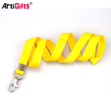 Wholesale Cusotm Cheap High Quality Printed Blank Medal Badge Polyester Lanyard