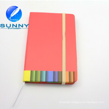 Hard Cover Memo Pad with Elastic Band