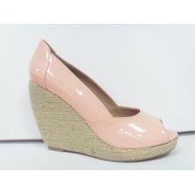 2016 New Design Women Peep Toe Sandals (HCY03-104)