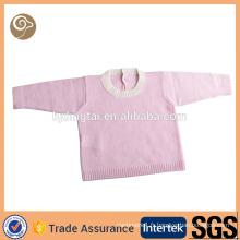Pull tricoté mongol en cachemire bébé