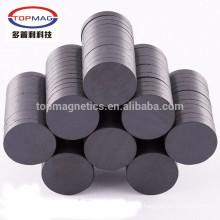 Strongest Round Ceramic Ferrite Magnets Y35 Motors Ceramic Disk Magnets