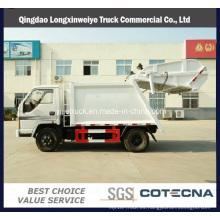Pequeño y nuevo camión compactador de basura 6ton