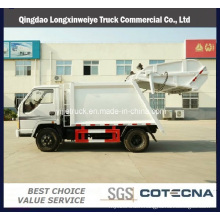 Small New 6ton Garbage Compactor Truck