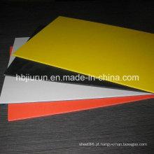 Painel plástico colorido do PVC de 1.22m * 2.44m