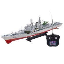 Destruidor de brinquedo Navio de guerra RC Modelo de barco 1/275 barco de controle remoto Battleship