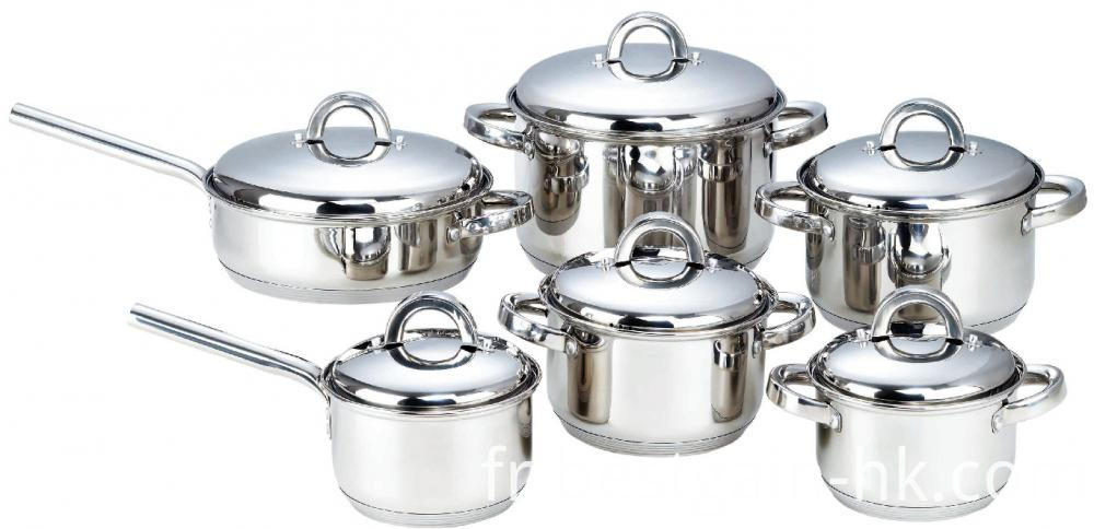 7-layer Capsulated Bottom Cookware Set
