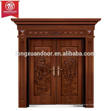 Factory Custom Front Entry Doors, Double Swing Bronze Door, Villa Copper Door