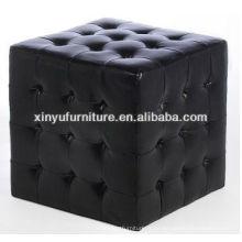 Taburete de un asiento cuadrado con botones arriba XY0311