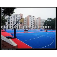 outdoor Interlock Sports court tiles for kid's playground