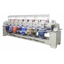 Multi head computerized embroidery machine prices with digitizing software option