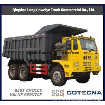 Sinotruk HOWO 6x4 371HP 60 ton caminhão de mineração