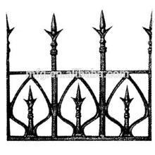 2014 Ferro de molde novo ornamental Spearhead / Ferro fundido ou forjado Fence Ferro Spearhead