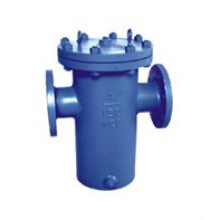 Cast Steel with Painting Basket Type Strainer