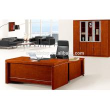 Mesa de escritório de mesa de escritório de folheado de madeira da China