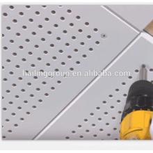 Tablero de techo incrustado de alta calidad de aluminio perforado del diseñador profesional del yeso