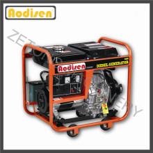 Générateur diesel monophasé de moteur diesel de 2.8kw-5kw