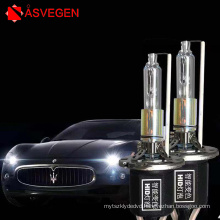 Laser D2H intelligent dual color xenon lamp HID 55W high brightness color car hernia lamp lens special Low/High Beam light