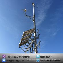 400W Wind Solar Hybrid System Verwendung kleiner Wind Turbine Generator