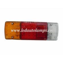 Luz do caminhão do diodo emissor de luz com refletor vermelho