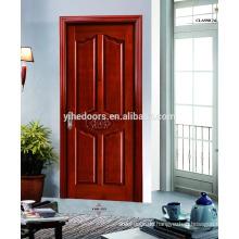 elegante Eingangstür gewölbte Holztür