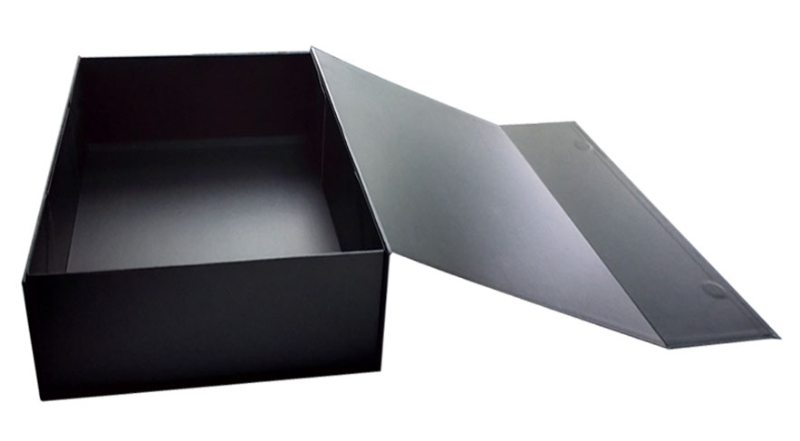 Luxury Custom Folding Black Gift Box