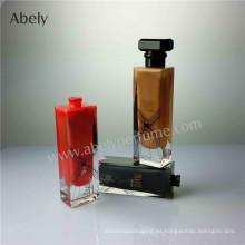 Botella de Perfume de Vidrio de Diseñador con Lacado Interior