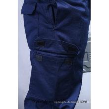Günstige Qualität Langarm Sicherheit 100% Baumwolle Anzug (BLY2003)