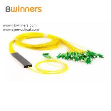 Diviseur de fibre optique Plc de type tube 2X32