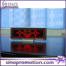 LED carro mensagem interior exibição LED sinal de táxi