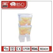 пластиковый диспенсер сок 5.3 L * 2