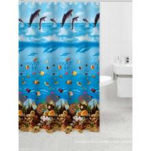 new fashion ocean style bathroom window curtains