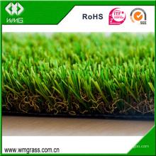 Four Color artificial carpet landscape synthetic grass