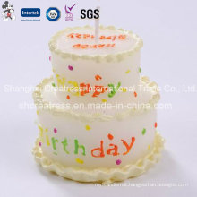 Fancy Wax Cake Shaped Candles