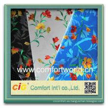 Moda nuevo diseño bonito chenilla sofá del telar jacquar-de tela no tejida