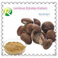 Alta Qualidade 100% Natural Lentinus Edodes Extrato Lentinan