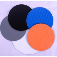 Alta qualidade barato malha coaster 100% PP rodada tamanho 10 centímetros