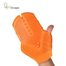 Gants de massage trois couleurs en option pour corps amaigrissant