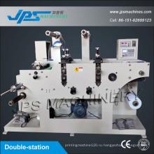 Высекальная машина для наклеивания этикеток с разрезающей функцией