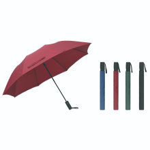 2 Folding Auto Open Pongee Umbrella/Compact Gift Umbrella for Rain and Sun