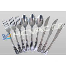 Forks and Spoons Vacuum Metalizing Coating Machine