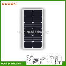 Panneau solaire semi-flexible 40W semi-flexible pour camping-car