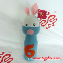 Plüsch Blaues Kaninchen Plüsch Bowling Spielzeug