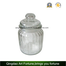 Glass Candle Jar Holder for Filled Candle