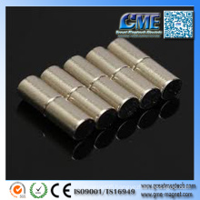 Cheap Custom Made Neodymium Magnets Cylindrical Permanent Magnet
