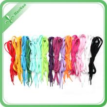 Beste Qualität Großhandel Nylon / Polyester Material Schnürsenkel für Sport / Mode / Kleidung